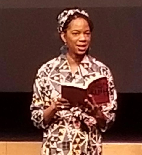Natasha Robinson reading from A Sojourner's Truth