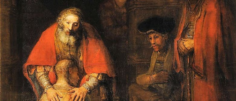 Return of the Prodigal by Rembrandt