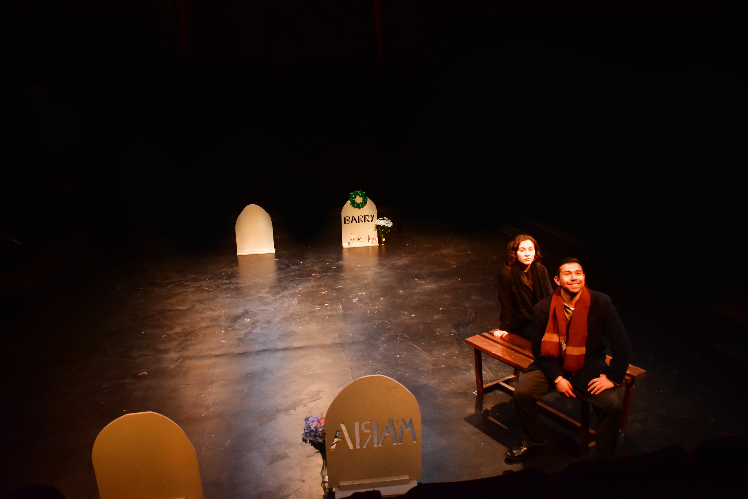 More Than a Headstone   Directed by Mykkaela Garcia  Photo by Lucinda Culver, 2018