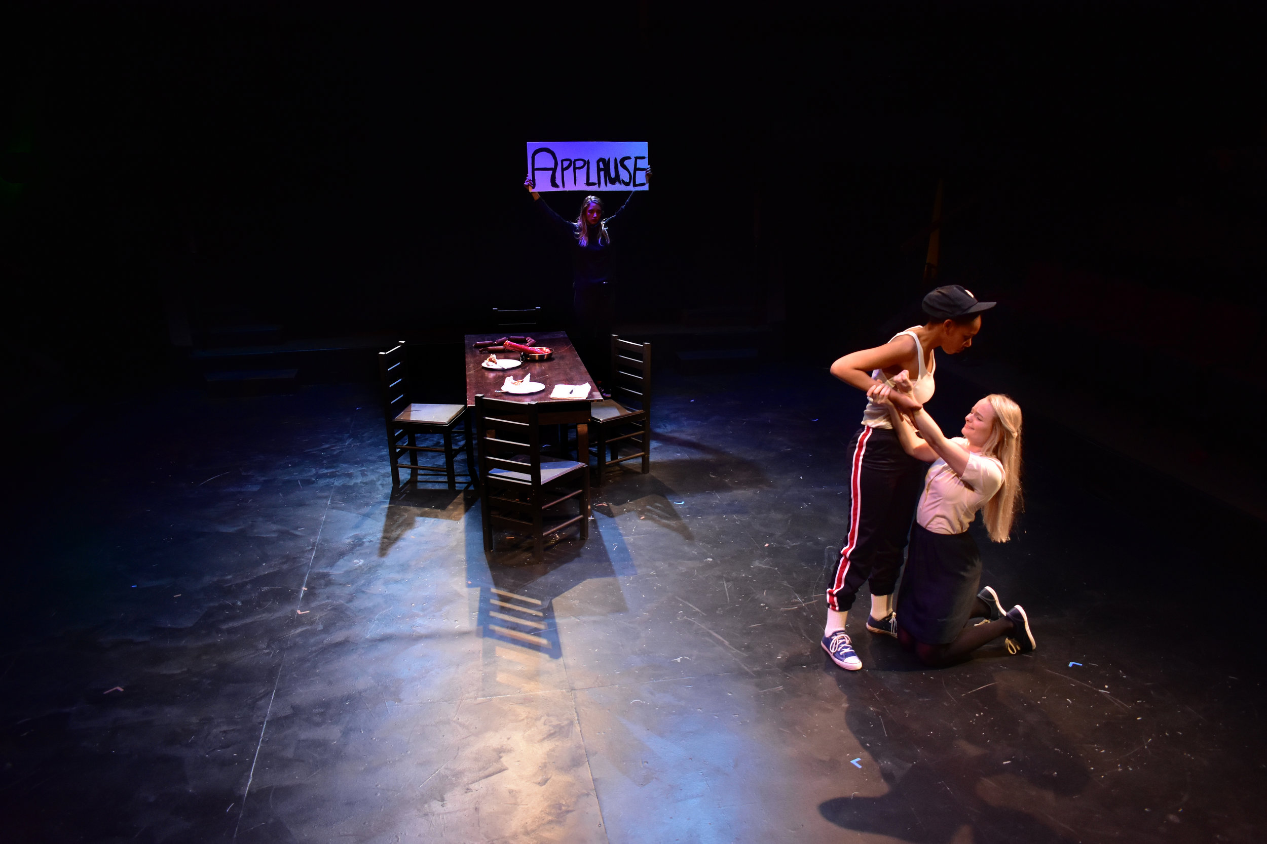 Meat & Potatoes   Directed by Patrick Byers  Photo by Lucinda Culver, 2018