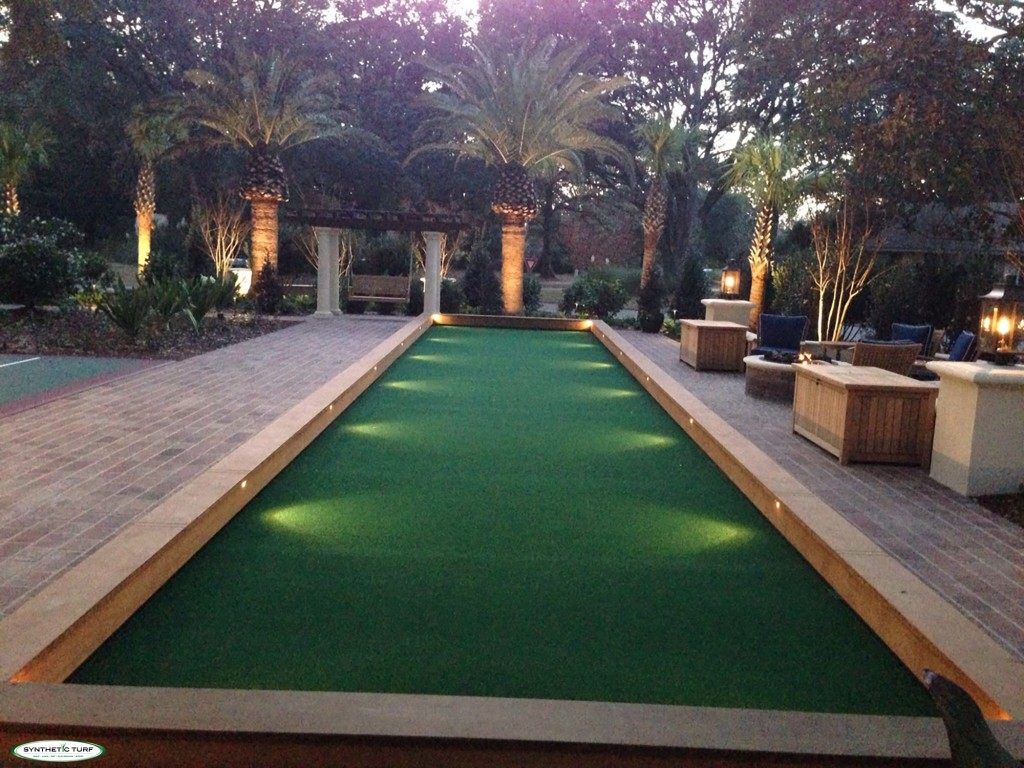 Bocce Courts -
