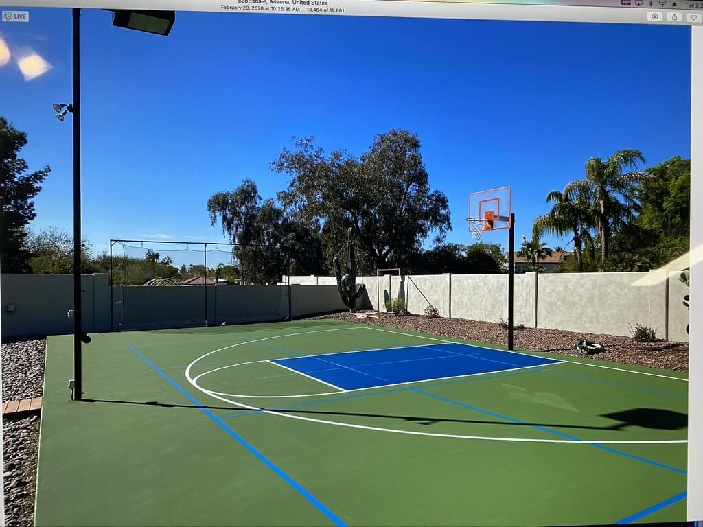 Building Basketball Courts In Phoenix And Across Arizona Apex Court Builders