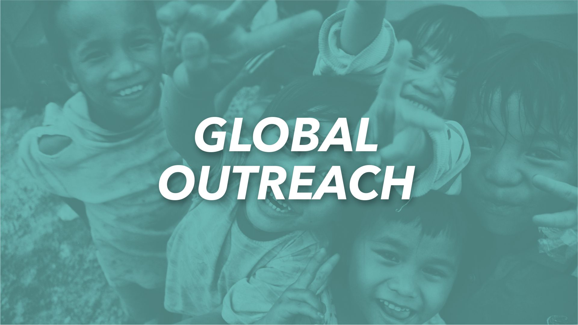 Prayer is the fuel of global outreach. Missions begin with prayer. Jesus said to go into all the world and preach the gospel, which is why we care for everyone. In order to preach the gospel, we send teams around the world.