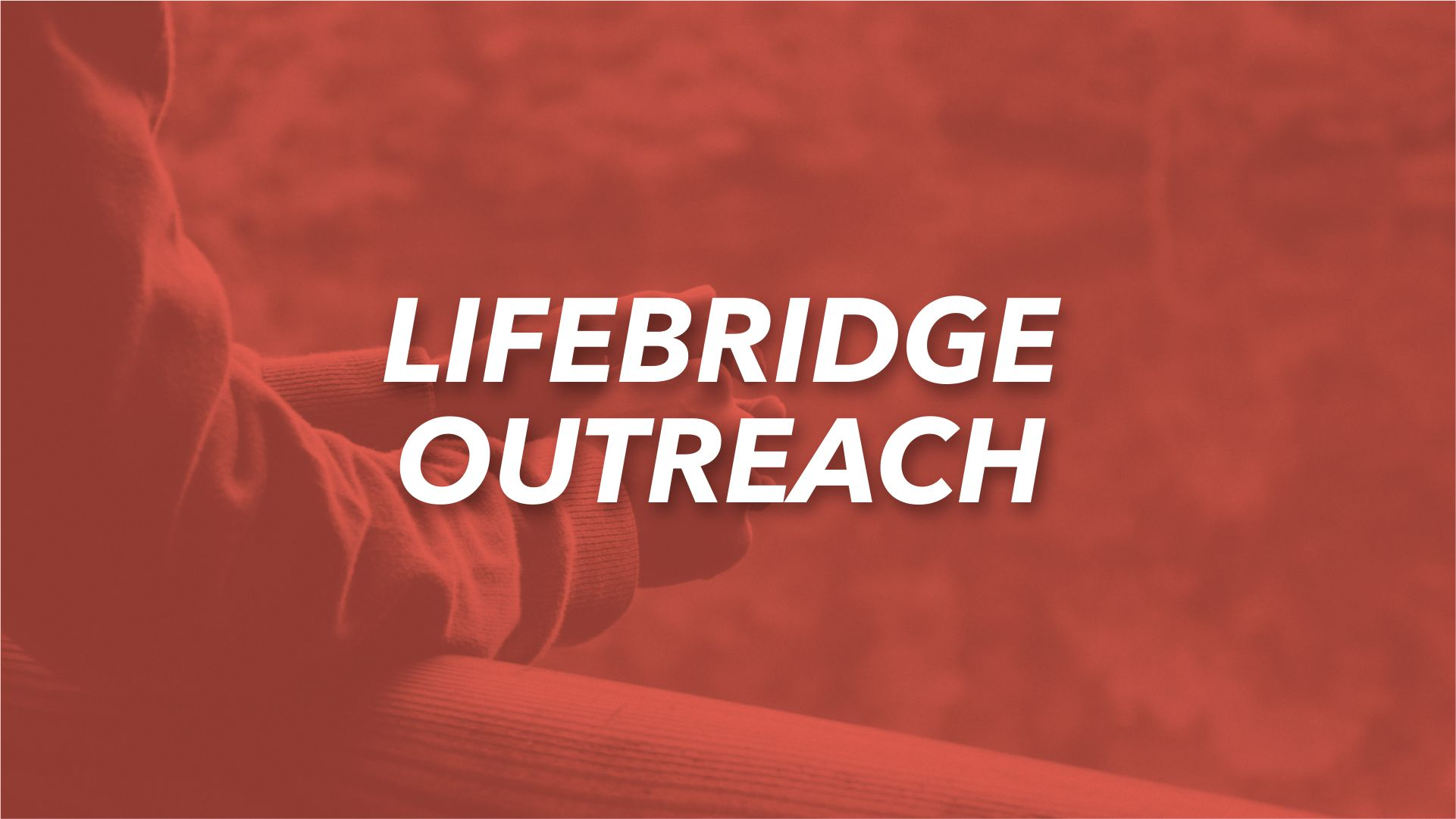 The Lifebridge Ministry exist to share the love of Jesus with those in the church and the community who are experiencing crisis or difficult situations in life (i.e. poverty, divorce, addictions, finances, etc.). This is a ministry movement to help take people from a state of brokenness to transformation.