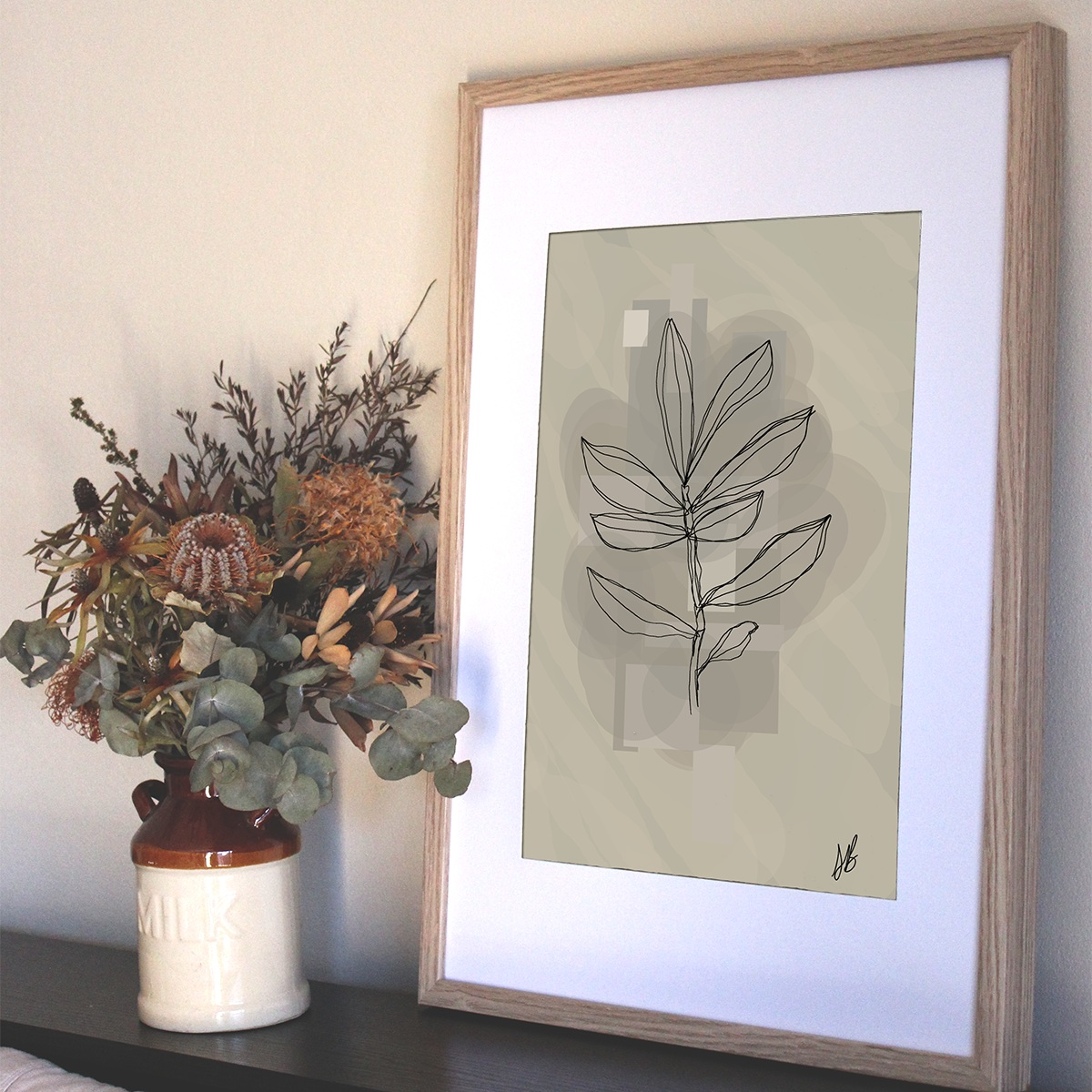 Olive Branch Print from $30.00