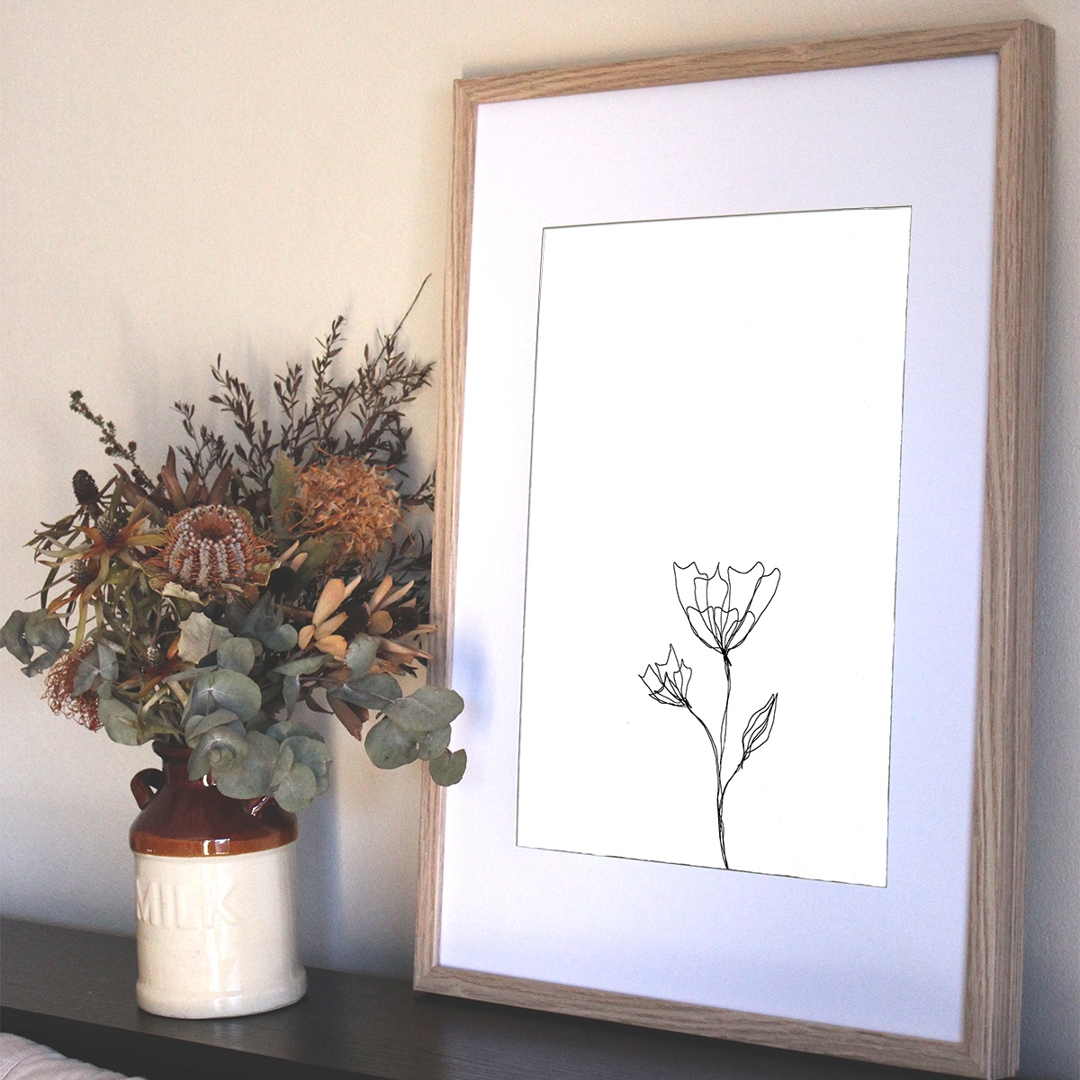 Flower Buds Print from $30.00