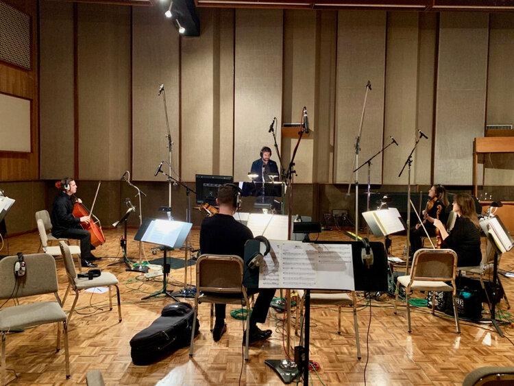 Leading the string quartet