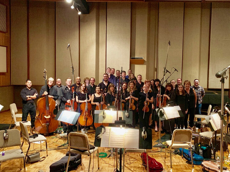 CMG Music Recording String Orchestra