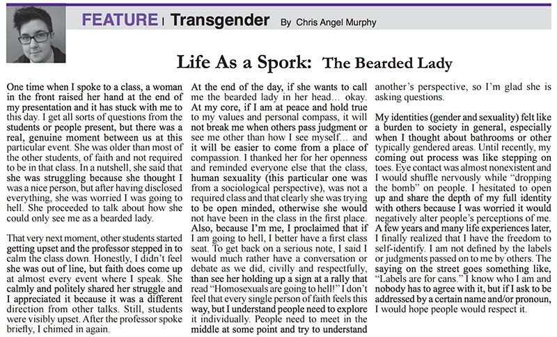 Life As a Spork: The Bearded Lady