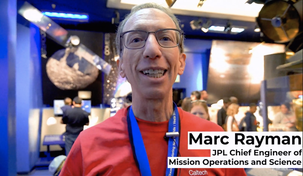 StarTrek.com interviews Marc Rayman