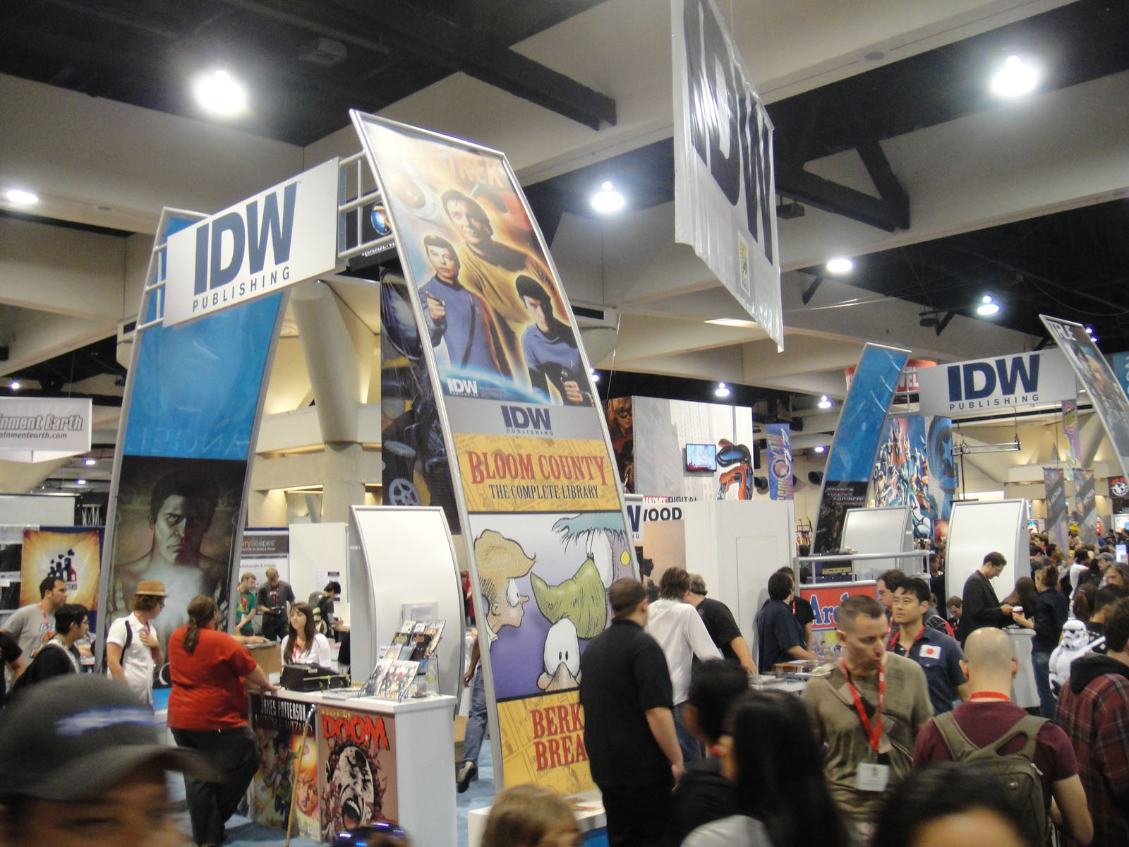 """""""Comic-Con 2010 - IDW booth""""    by    Doug Kline    is licensed under    CC BY-NC 2.0"""