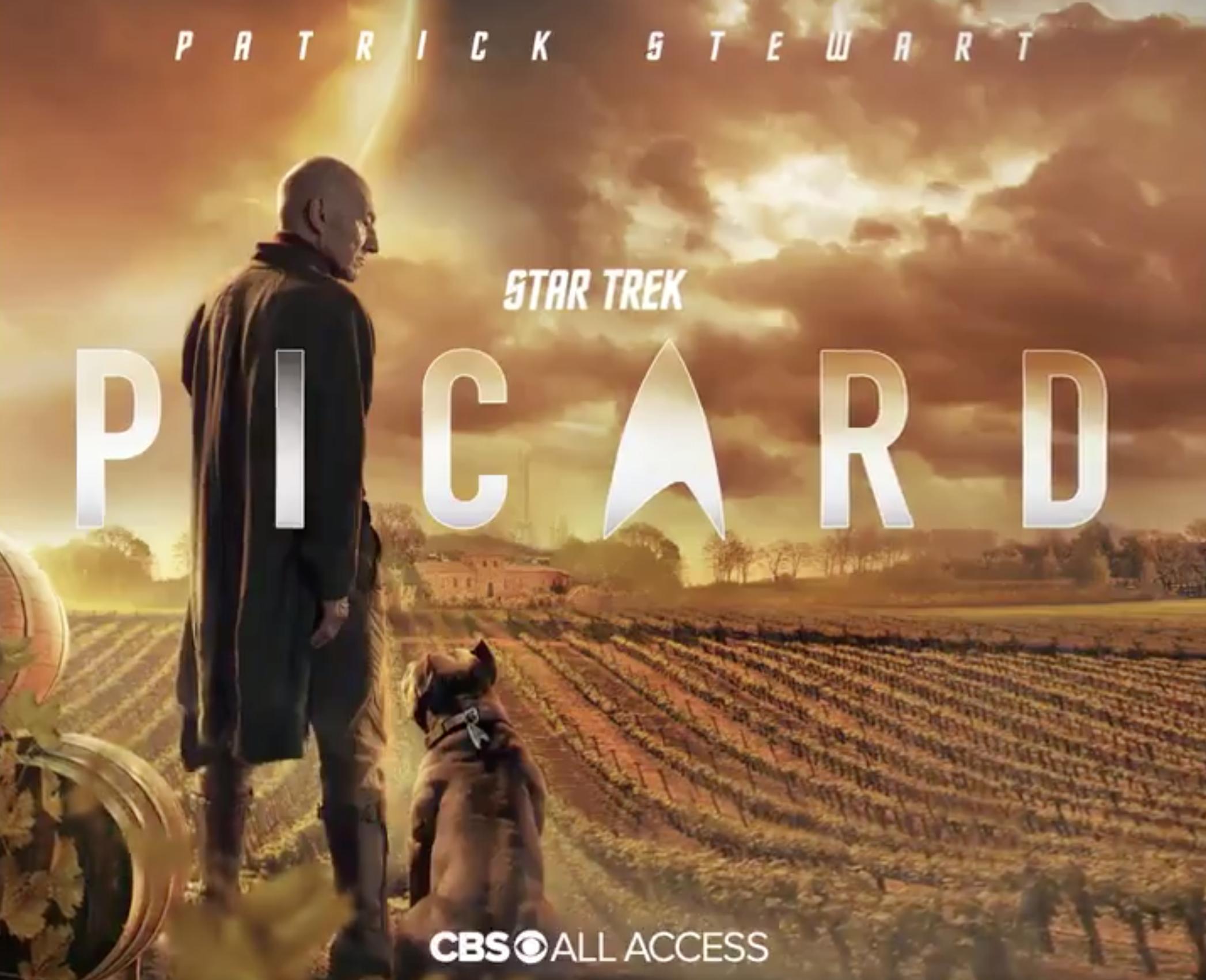 New key art for Star Trek: Picard