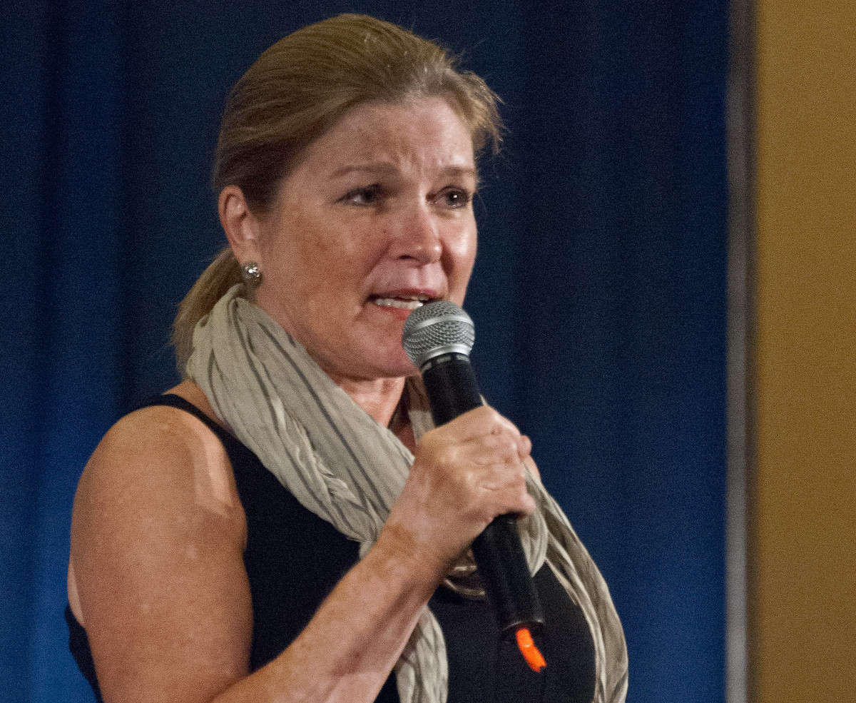 """""""Kate Mulgrew Sunday""""    by    rwillia532    is licensed under    CC BY-NC-SA 2.0"""