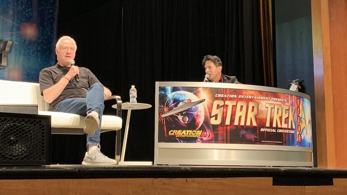 Brent Spiner at Star Trek Las Vegas 2019