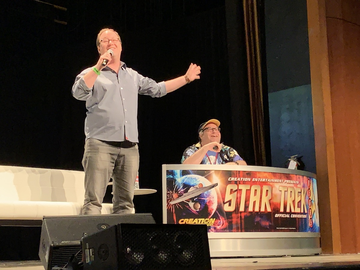 Mike McMahan at Star Trek Las Vegas 2019