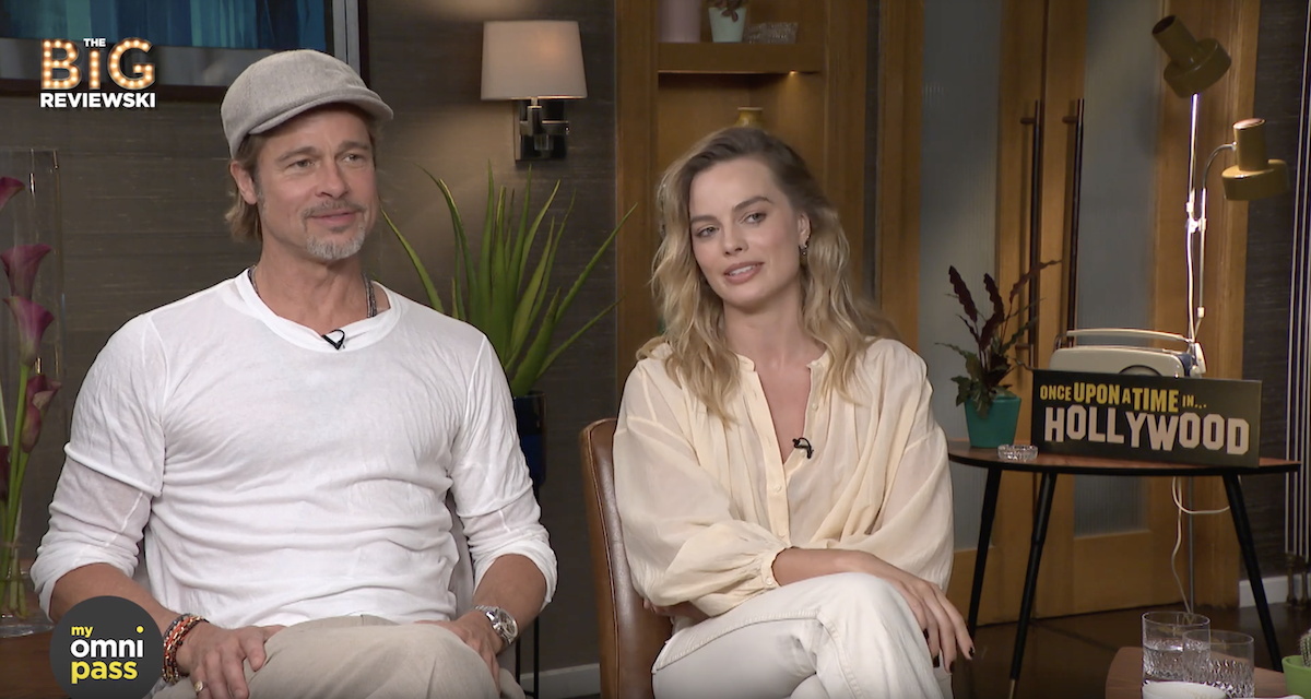 Brad Pitt and Margot Robbie