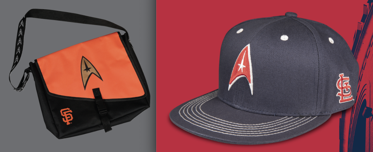 San Francisco Giants and St. Louis Cardinals both offer special gifts on Star Trek nights