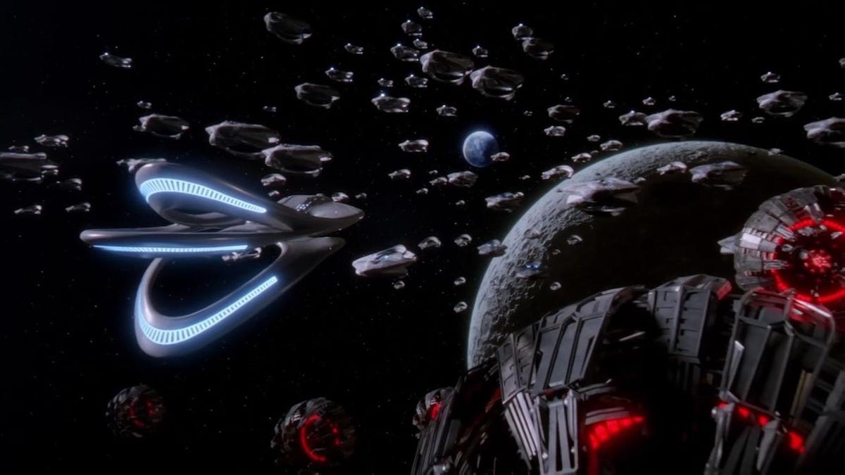 """The. Orville vs. the Kaylon Fleet in """"Identity, Part 2"""""""