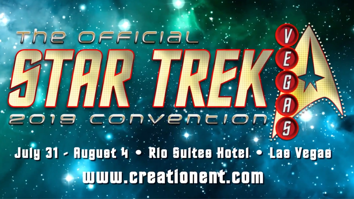 Star Trek Las Vegas Convention, July 31 - August 4, 2019