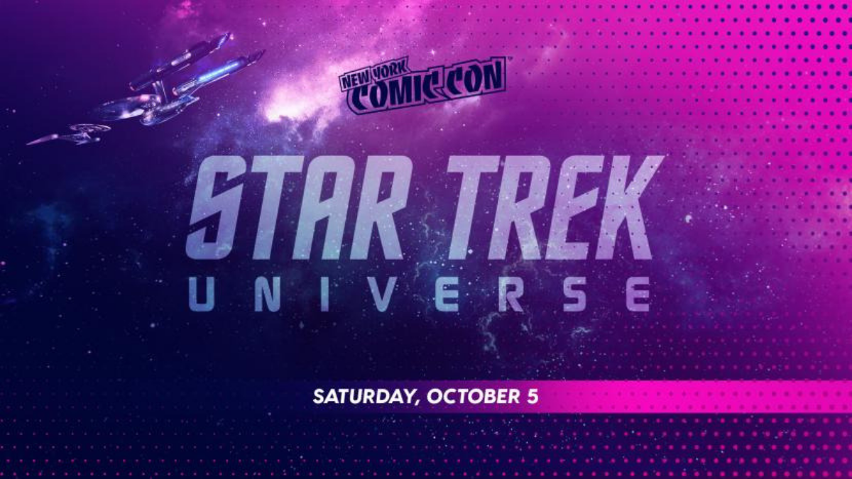 The Star Trek Universe heads to New York Comic Con