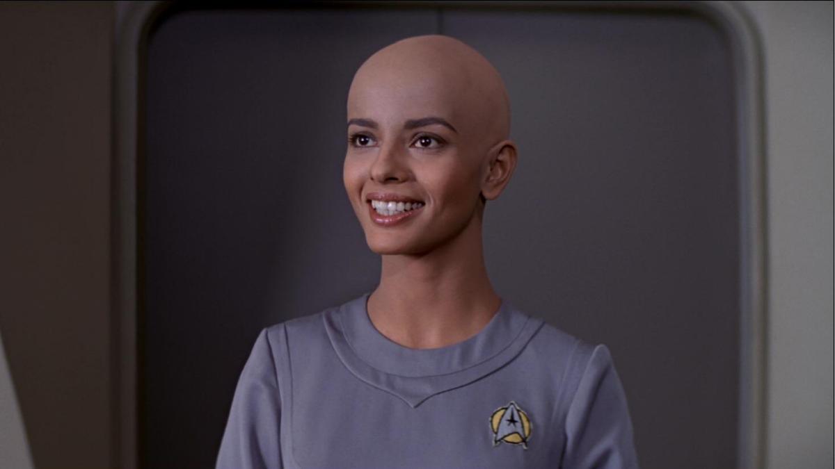 Persis Khambatta as Ilia in  Star Trek: The Motion Picture