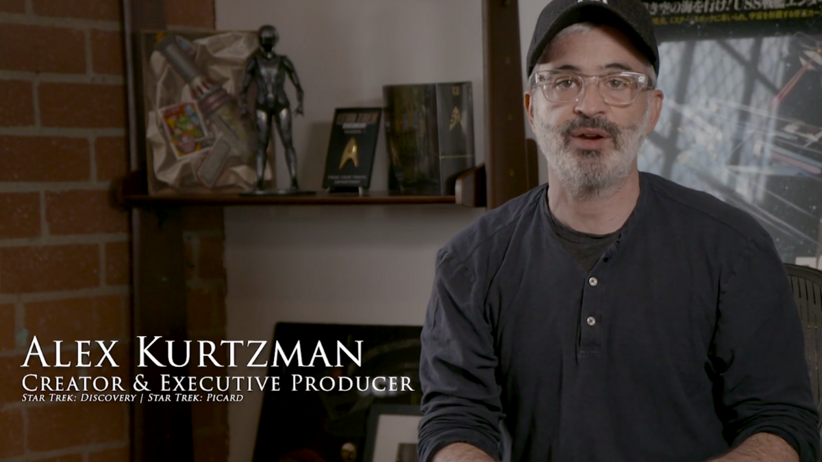 Alex Kurtzman on  StarTrek.com