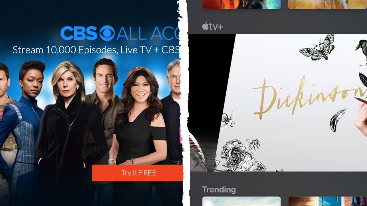 CBS All Access, Apple TV+