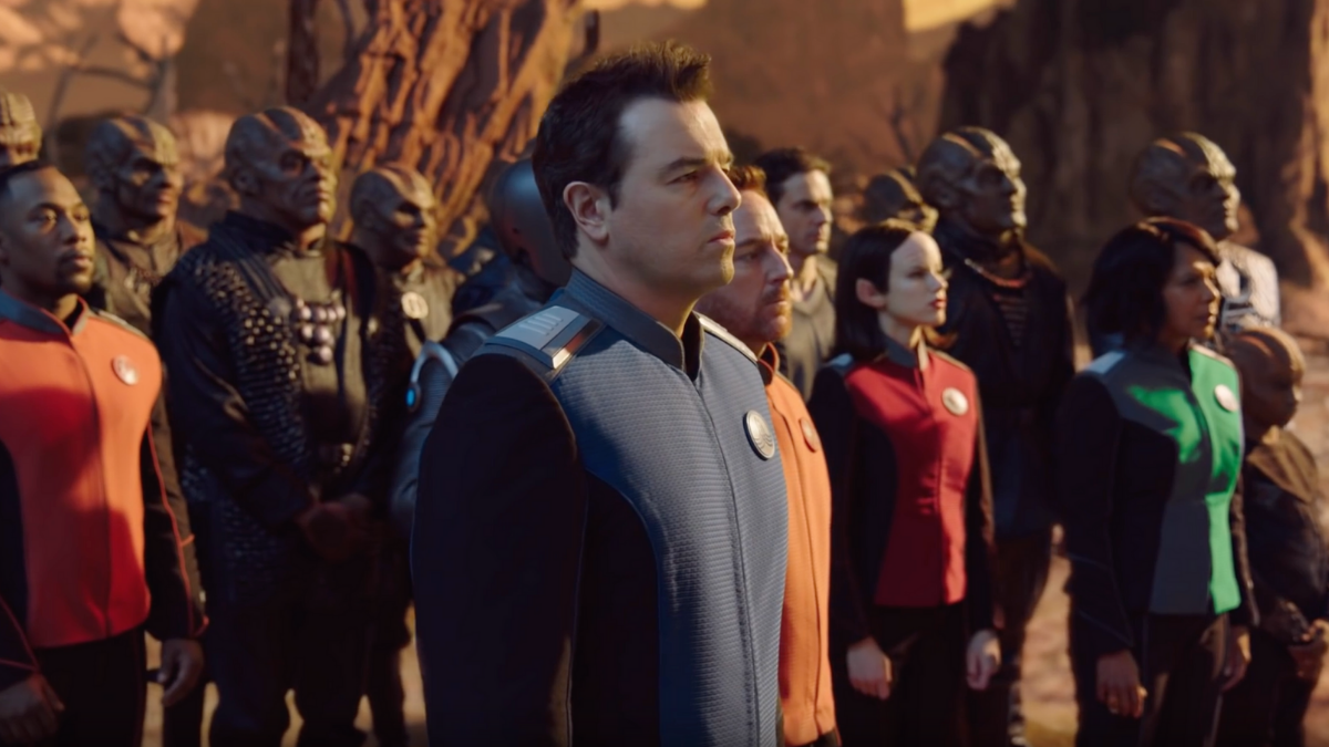 The crew of  The Orville