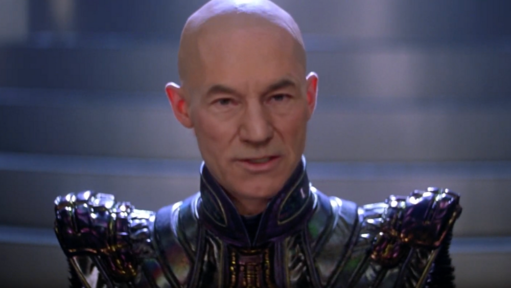 Deepfake of Sir Patrick Stewart as Shinzon in  Star Trek: Nemesis