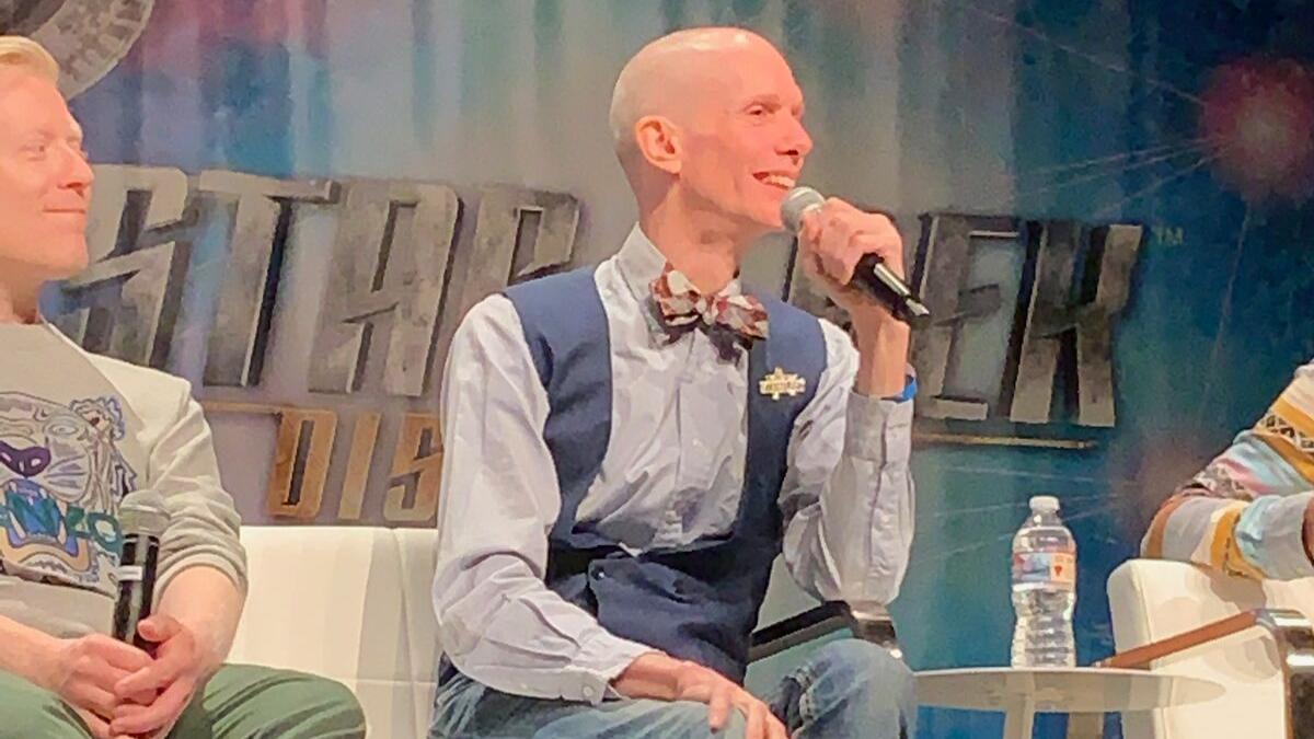 Doug Jones at Star Trek Las Vegas in 2019