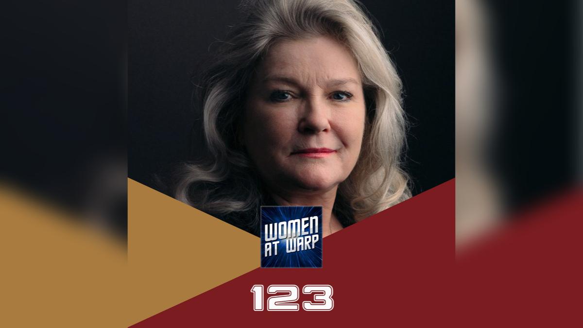 Kate Mulgrew on Women at Warp: A Roddenberry Star Trek Podcast