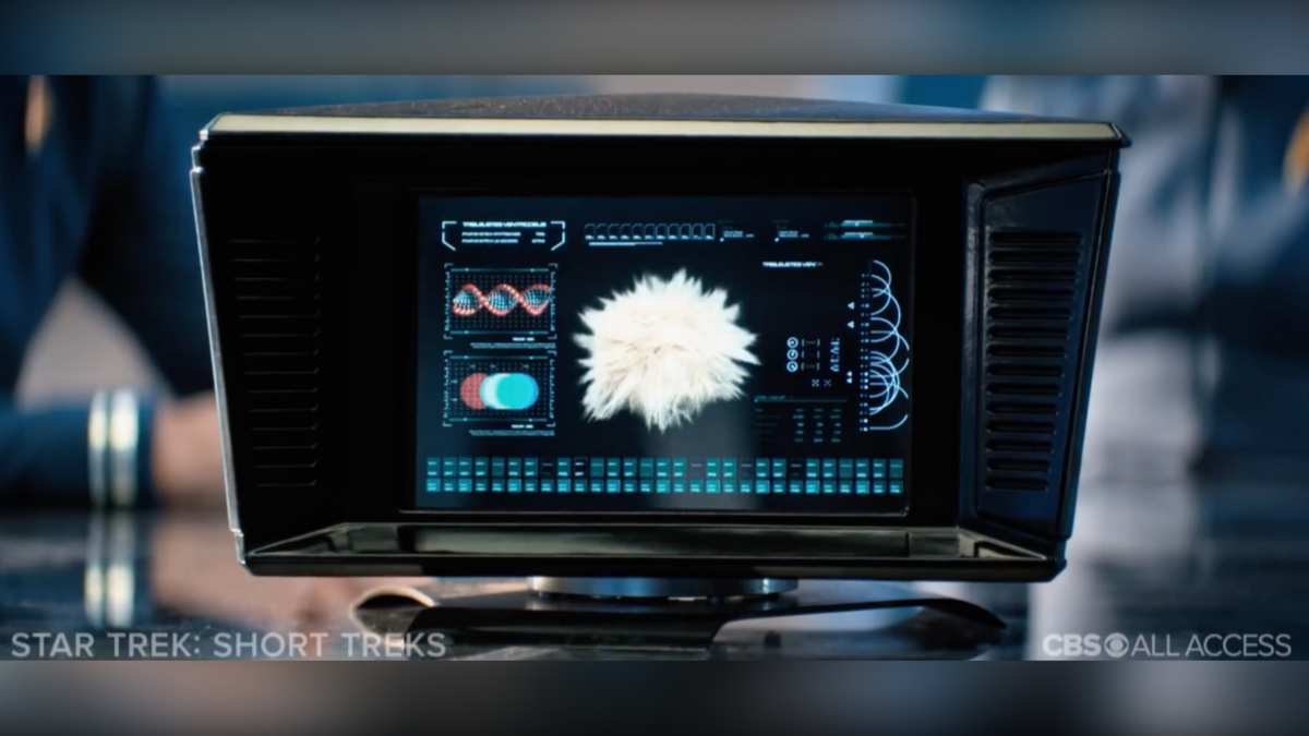 """Tribble analysis in  Star Trek Short Treks  """"The Trouble with Edward"""""""