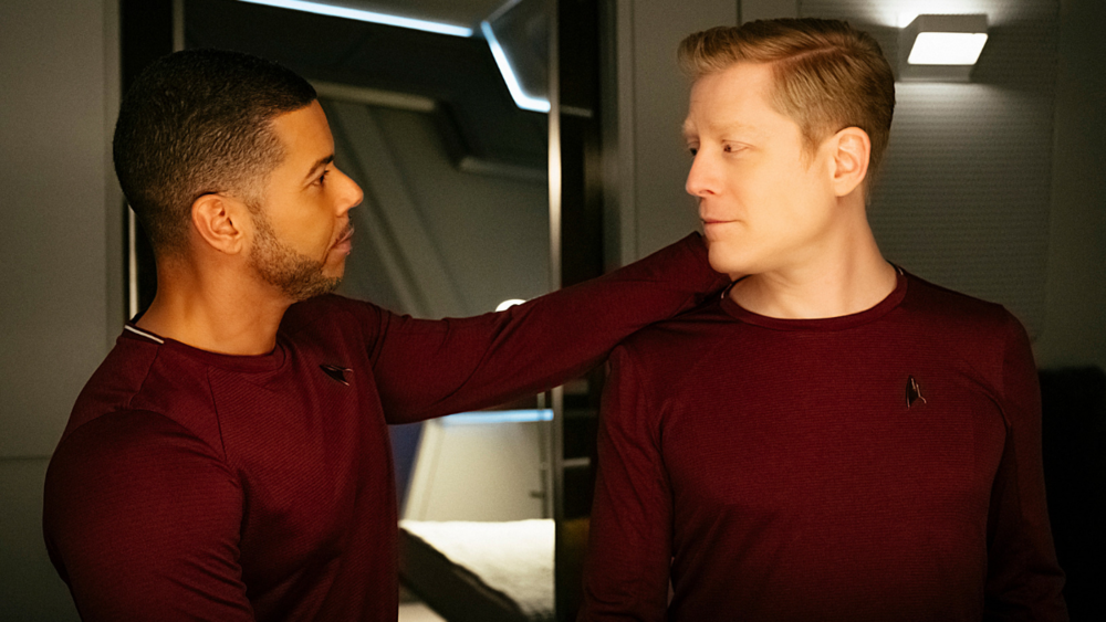 """Wilson Cruz and Anthony Rapp on the """"Different Dynamic"""" of Culber and  Stamets' Relationship in Star Trek: Discovery Season 3 — Daily Star Trek  News"""