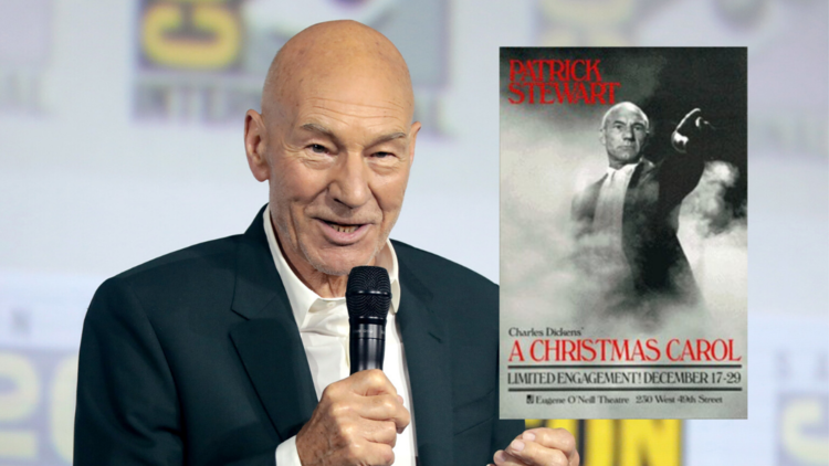 Sir Patrick Stewart Brings His One Man A Christmas Carol Back To New York To Benefit Charity Daily Star Trek News