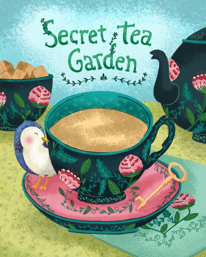 """Secret Tea Garden""- Global Talent Search"