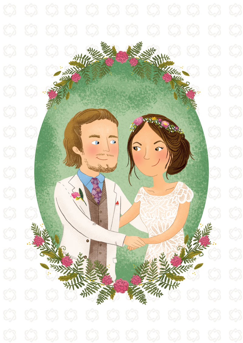Celtic Wedding - Wedding Portrait