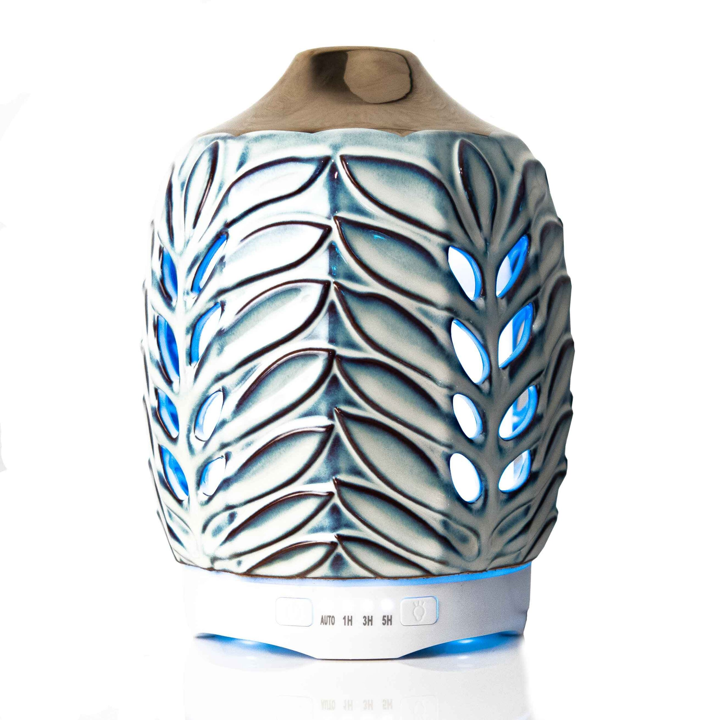 Leaf Design Colour Changing Aroma Humidifier Lp45738 Project Scent