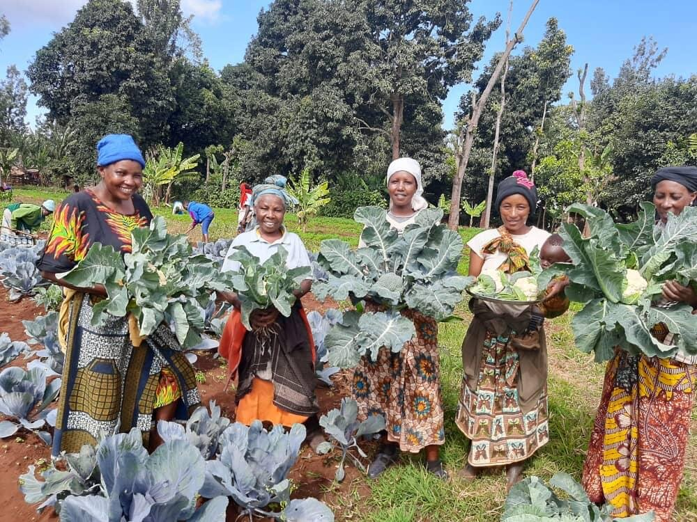 Women farmers in Tanzania