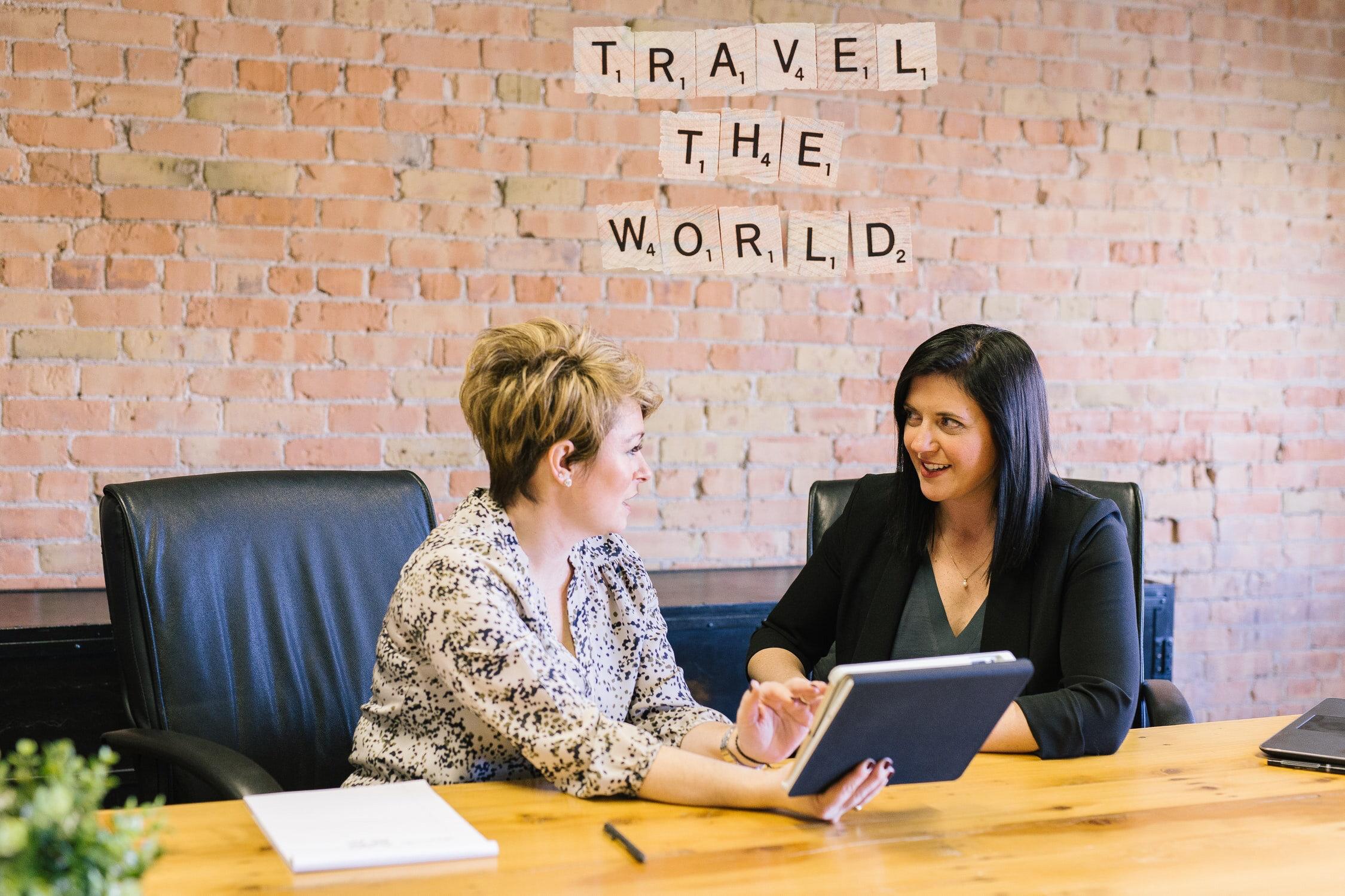 Travel the world \ sustainable travel \ travel agent \travel advisor