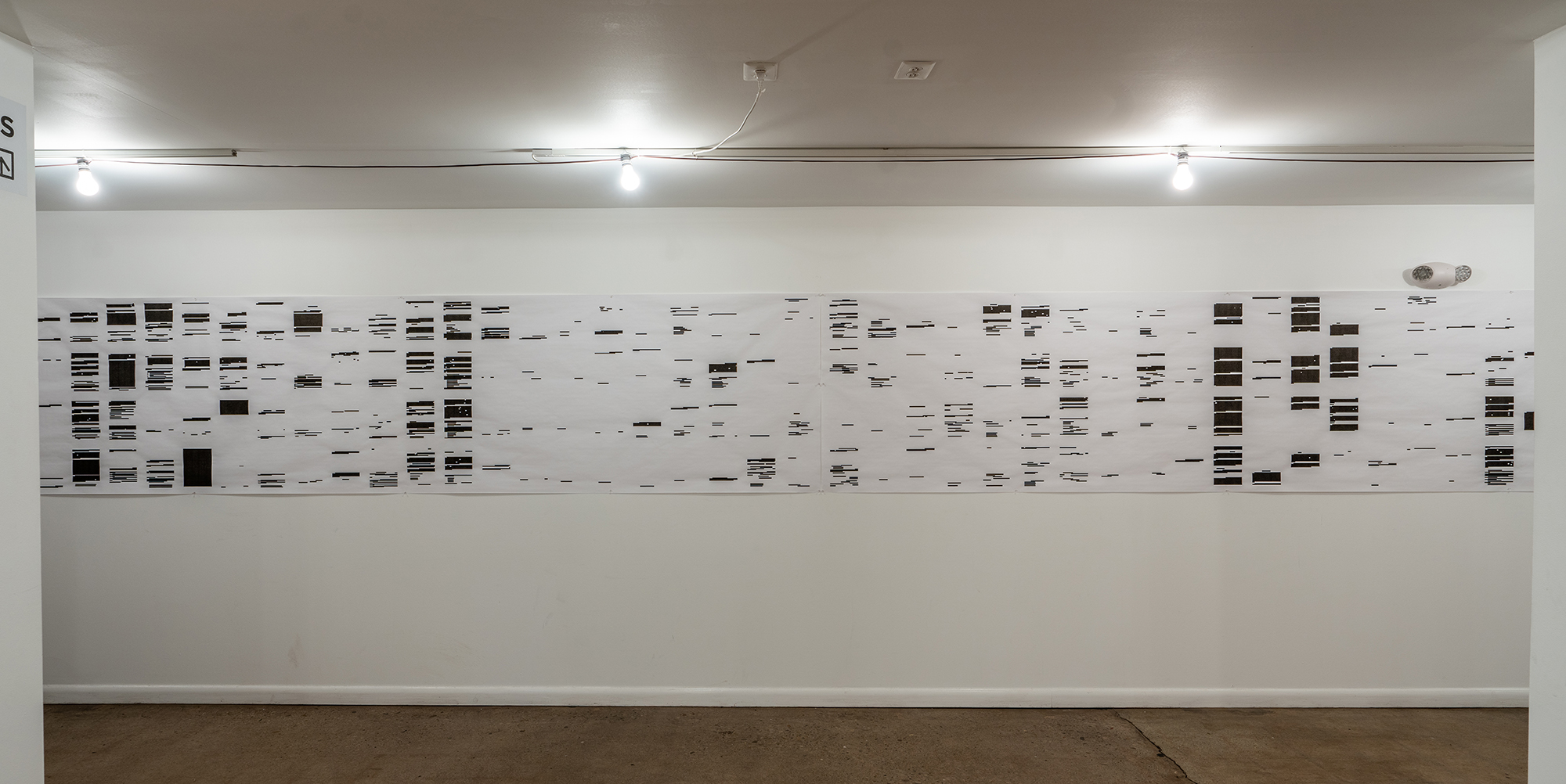 """Study for """"Harm To An Ongoing Matter,"""" at Culture House (Washington, DC 2019)"""