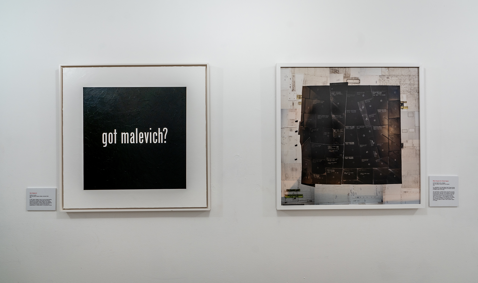 """Got Malevich"" and ""Black Square for Outer Space"" at Culture House (Washington, DC 2019)"