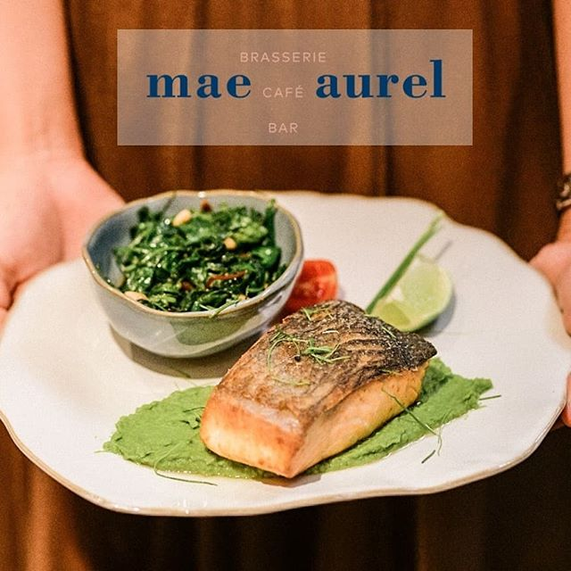 #lightlunch⁠ Fresh Salmon Steak & baby spinach, chard, pea puree, pine nuts. What else can you ask for? #lunchinmaeaurel #viennaeats #viennacity #1010 #brunchallday ⁠ There is no such thing as a wrong decision, when it comes to choosing from our #menu! 😍 #maeaurel #viennaschoice⁠ .⁠ #vienna #viennaeats #foodporn #foodie #instagood #restaurant  #igersvienna #viennanow #1000thingsinvienna #1000thingsinaustria #viennacity #viennaonly #foodbloggervienna #viennafoodie #wienisst #wien #fancyrestaurants #diewocheaufinstagram #foodiegram