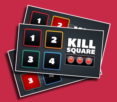 Kill Square - Get your students running from square to square, hoping theirs isn't next on the chopping block!