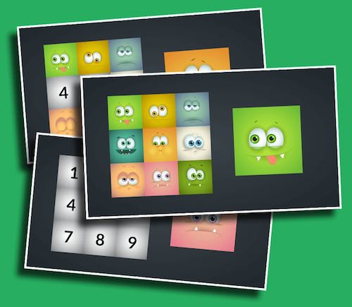 Monster Match - Test your students' memories with this goofy monster matching game.
