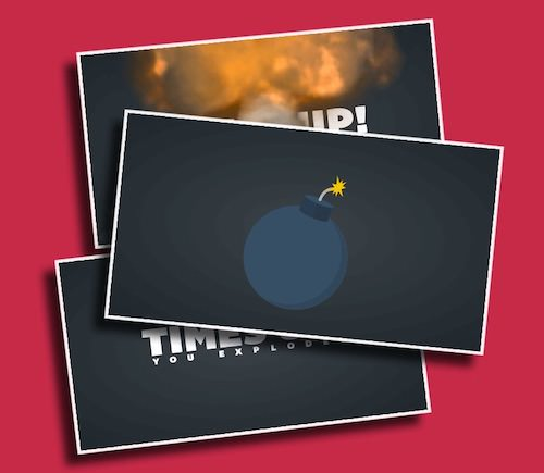Bomb Timer - A fun timer with an explosive ending.