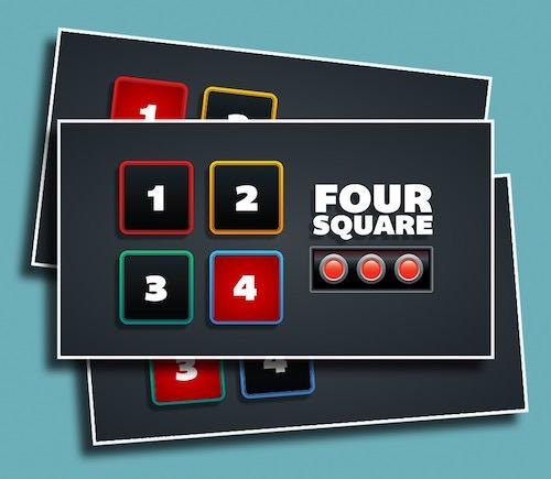 Four Square - A fun Children's Ministry version of Kill Square.
