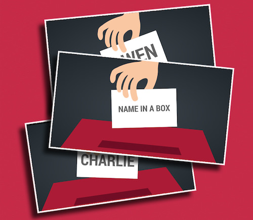 Name in a Box - A fun picker that pulls student's names out of a box.