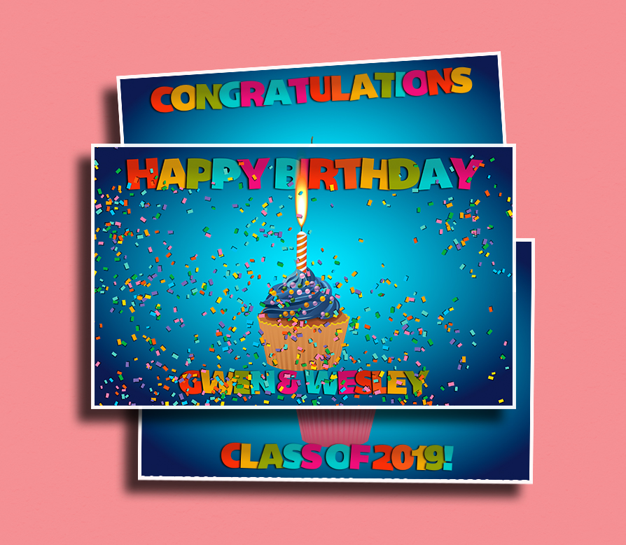 Cupcake Celebrate - A virtual cupcake for any celebration! Complete with confetti and a flame student can blow out.