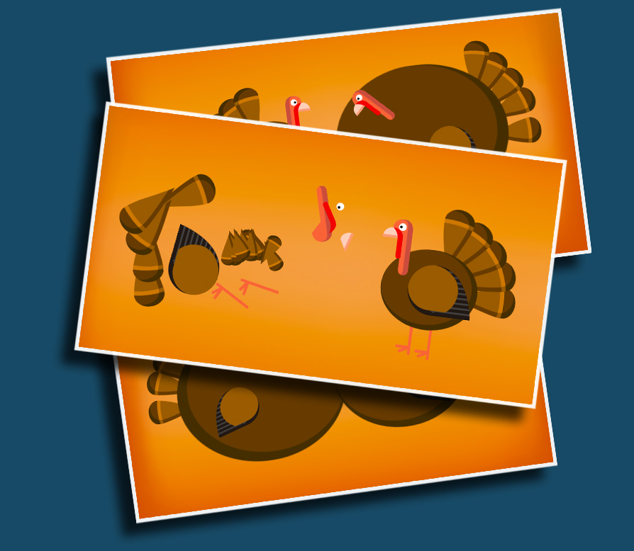 Turkey Pop - A goofy game that has students racing to inflate turkeys until they pop!