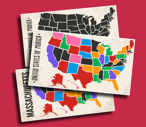 Murica - Do your students (or even you) kmow all of the 50 nifty United States of America?